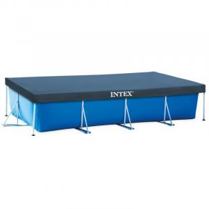 Тент-покрывало Intex 28039 для прямоугольных каркасных бассейнов 450x220 см