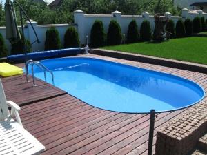 Сборный бассейн Summer Fun 4501010243KB овальный 800х400х120 см