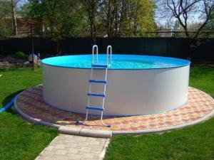 Сборный бассейн ЛАГУНА 48815 круглый 488х125 см (белый)