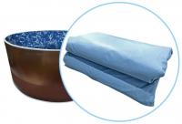 Чаша (пленка) мрамор для бассейнов Azuro mountfield, Лагуна  4,88 х 1,35