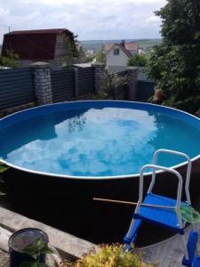 Сборный бассейн ЛАГУНА 30511 круглый 305х125 см (шоколад)