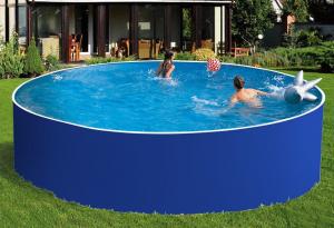Сборный бассейн ЛАГУНА 30517 круглый 305х125 см (синий)