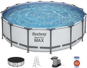 Каркасный бассейн Bestway 5612Z Steel Pro Max 488х122см
