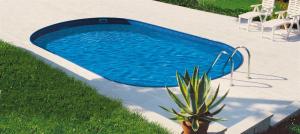 Сборный бассейн Summer Fun 4501010255KB овальный 1100х550х150 см
