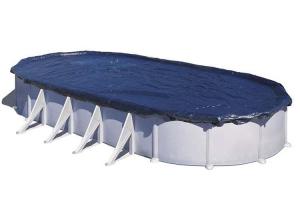 Тент-покрывало GRE CIPROV611 для овальных каркасных бассейнов 610x375 cм